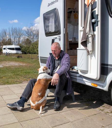 Willem is na wilde rit door Europa enige campinggast: 'Was best een avontuur'