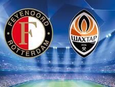 Feyenoord tegen Sjachtar op jacht naar de eerste punten