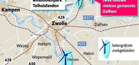 Swollwacht wijst extra windmolens in Zwolle af