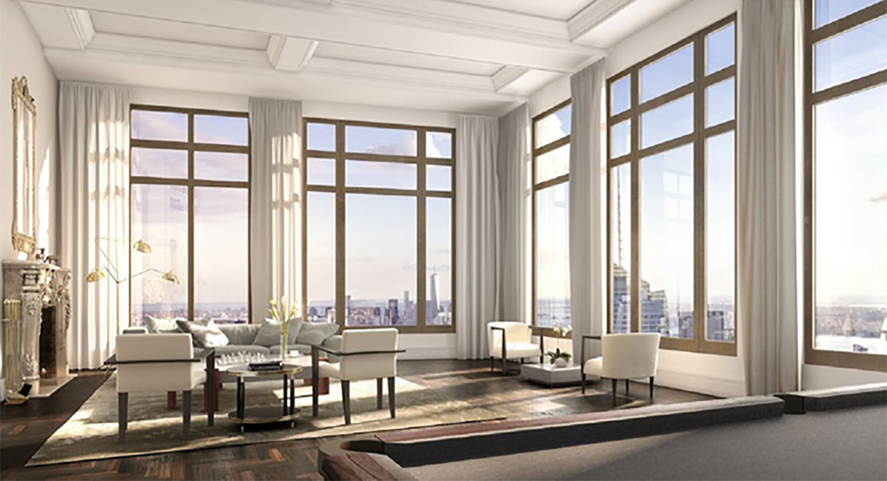 Wordt dit penthouse in ny duurste appartement ter wereld - Immobilier de luxe penthouse manhattan ...