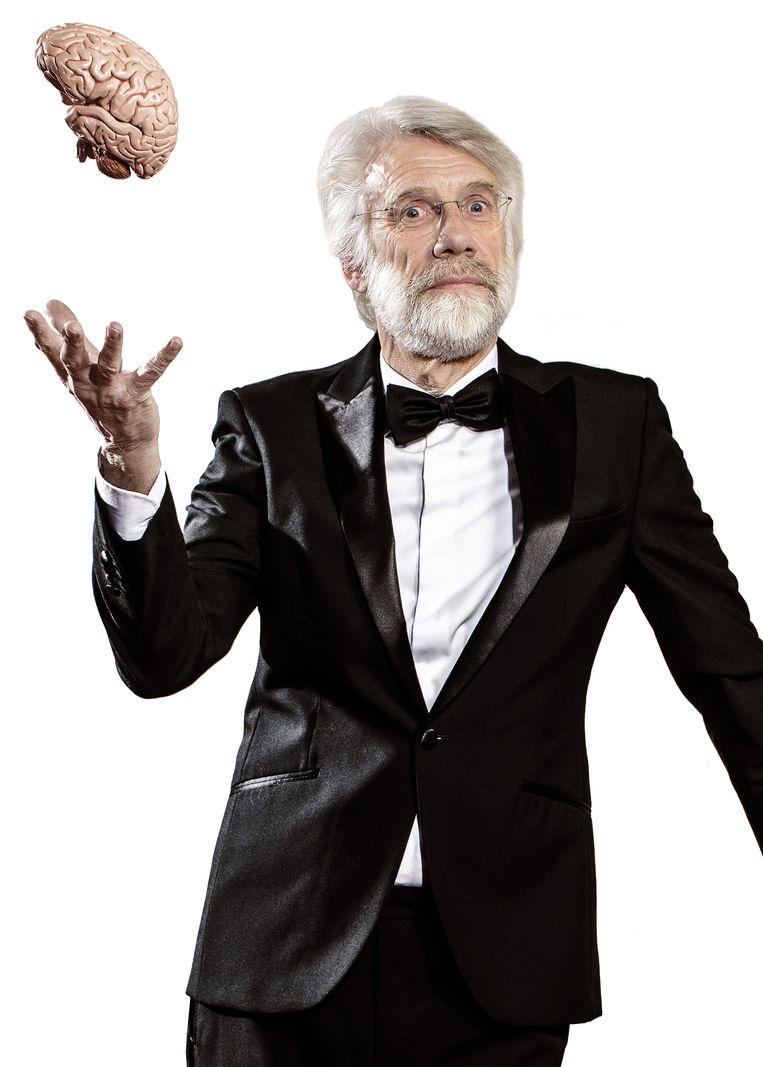 'In een gebaar kan zoveel kracht zitten,' aldus hoogleraar neuropsychologie Erik Scherder. Beeld Jacqueline de Haas