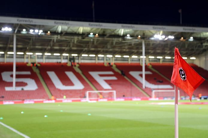 Bramall Lane, het stadion van Sheffield United.