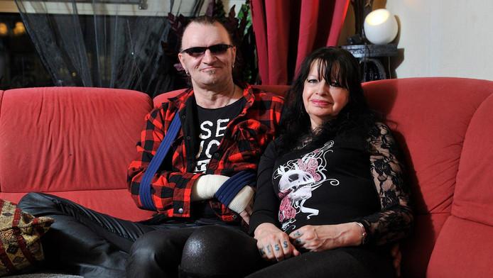 Derk en zijn vrouw Maddy.