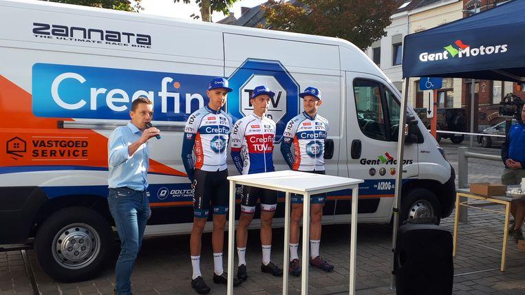 Braam Merlier, Michael Boros en Sieben Wouters