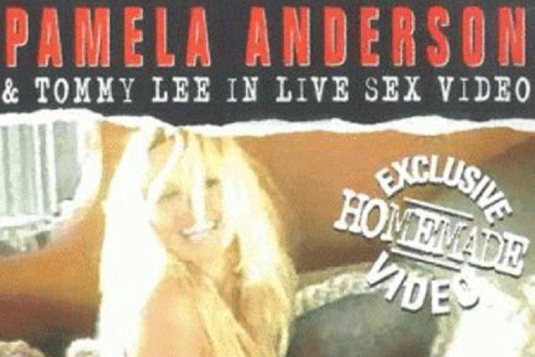 null Beeld DVD-hoes Seks Tape Pamela & Tommy