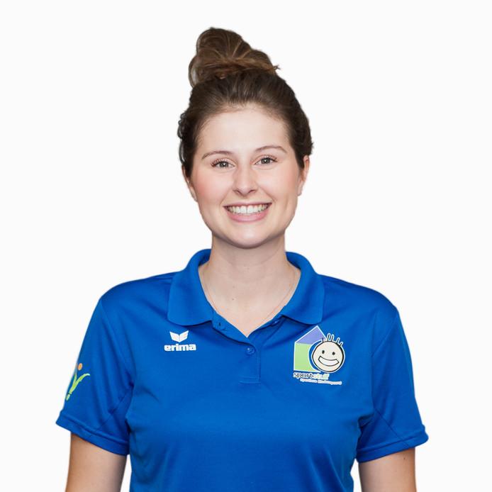 Rachelle Scheepers van Sportstuif, een sportieve buitenschoolse opvang die ook een vestiging in Deurne opent.