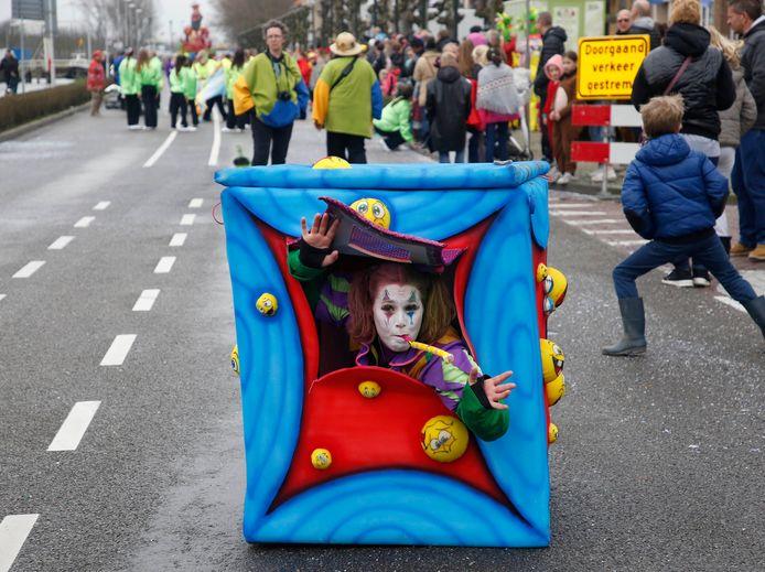 Iets om van te dromen in februari volgend jaar; de carnavalsoptocht op de Sasse Westkade in 2019.
