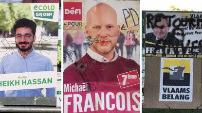 Racisme, homofobie, agressie en autokrassen: campagneniveau in Brussel neemt vuile duik