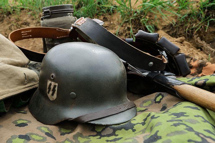 Attributen uit de Tweede Wereldoorlog, ter illustratie.