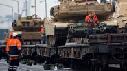 Grote Amerikaanse pantserbrigade passeert opnieuw langs Antwerpen