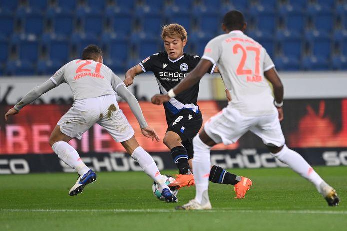 Ritsu Doan scoorde onlangs nog tegen FC Bayern, waar Arminia Bielefeld desondanks met 1-4 van verloor.