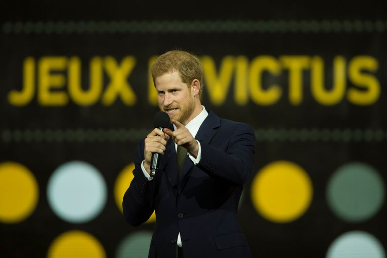 Prins Harry op de Invictus Games