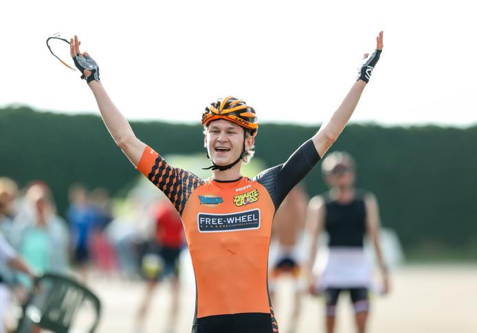 Casper de Gier wint de nationale titel. Foto: Eigen foto