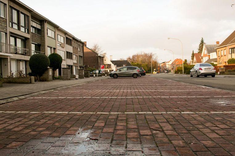 De Kardinaal Cardijnlaan in de Baenslandwijk.