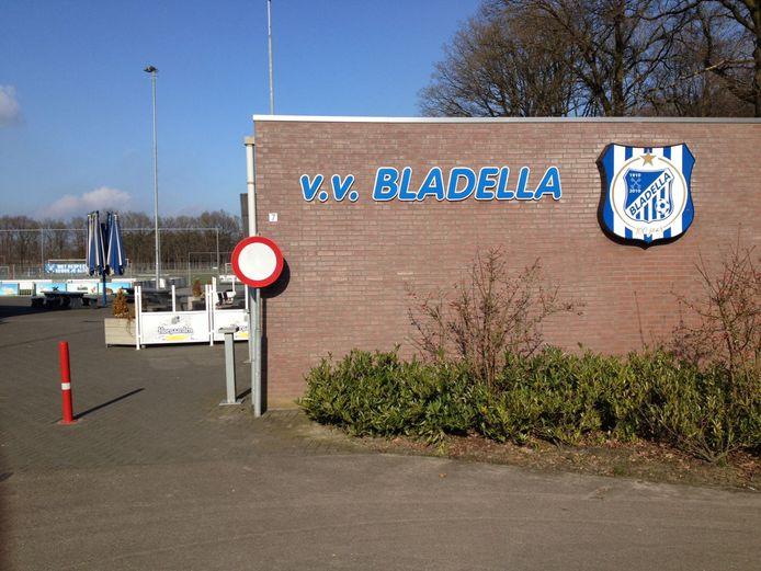Het clubgebouw van Bladella.