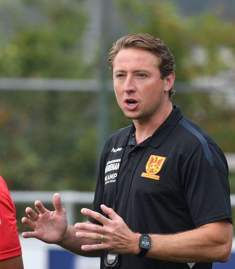 Trainer Kromkamp blijft kritisch, ook al staat CSV Apeldoorn aan kop