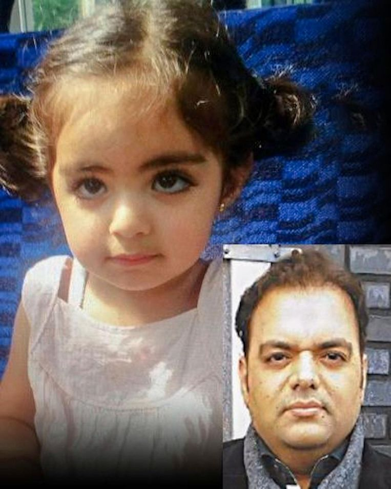 Insiya Hemani en haar vader Beeld -