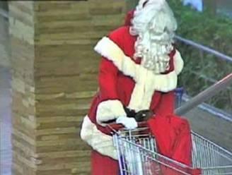 Politie zoekt stelende kerstman