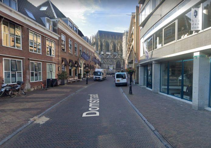 De Domstraat in Utrecht.