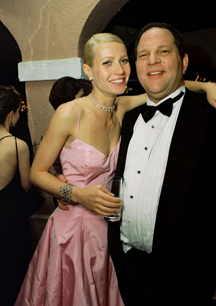 Avec Gwyneth Paltrow en 1999.