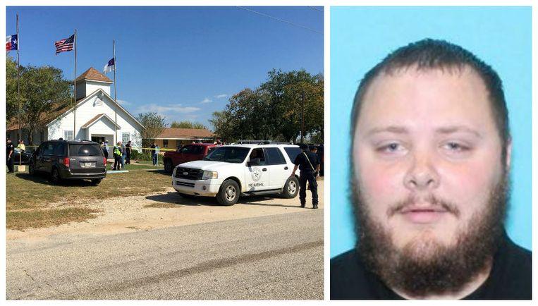 Devin Patrick Kelley (26) zou zelfmoord gepleegd hebben na de aanslag in de kerk.