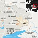 MH17 landkaart Krim