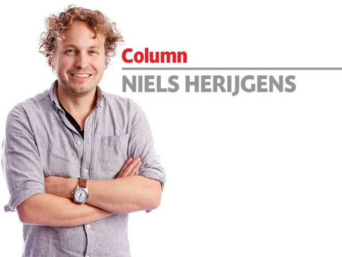 Columnist Niels Herijgens: ,,Waarom zou een tv beter zijn voor de economie dan bier en schrobbelèr?'' (foto Marcel Otterspeer/Pix4Profs)