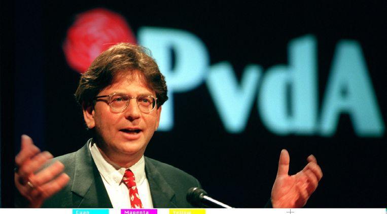 1997. Wallage als fractieleider van de PvdA Beeld ANP