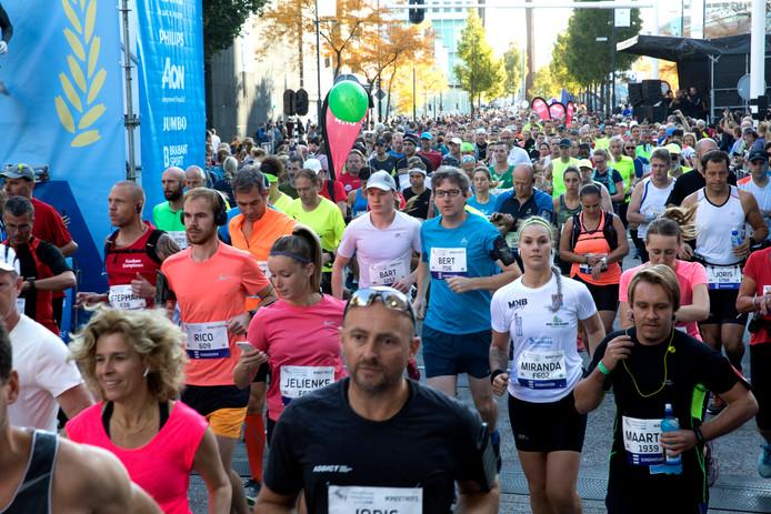 Veel lopers bereiden zich voor op de marathon, die op 13 oktober plaatsvindt in Eindhoven.