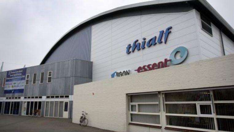 Het Thialf stadion in Heerenveen. © anp Beeld