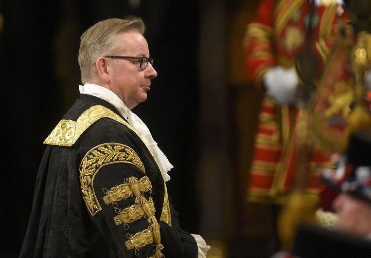 Minister van Justitie Michael Gove. Beeld photo_news
