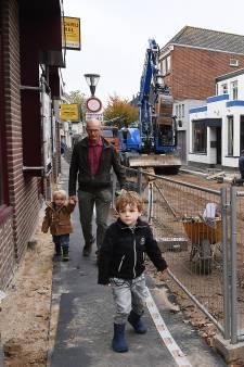 Facelift Maasstraat in Cuijk toch niet voor de feestdagen klaar