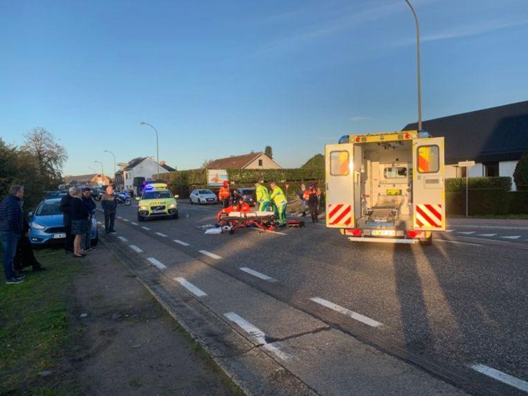 Een ambulance en een MUG-team snelden ter plaatse.