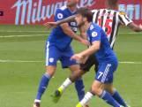 Speler Newcastle deelt belachelijke schop uit, maar krijgt geen rood