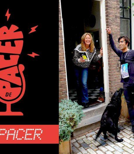 Podcast | Schrijver Ernest van der Kwast bracht zijn nieuwe roman al marathonlopend rond