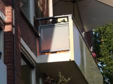Gasbarbecue zorgt voor brand op Bredaas balkon