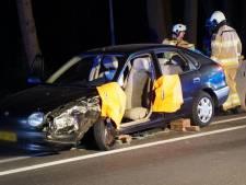 N35 afgesloten na ongeluk met vrachtwagen
