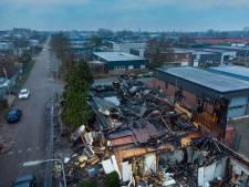 Toch asbest vrijgekomen bij grote brand in Kampen