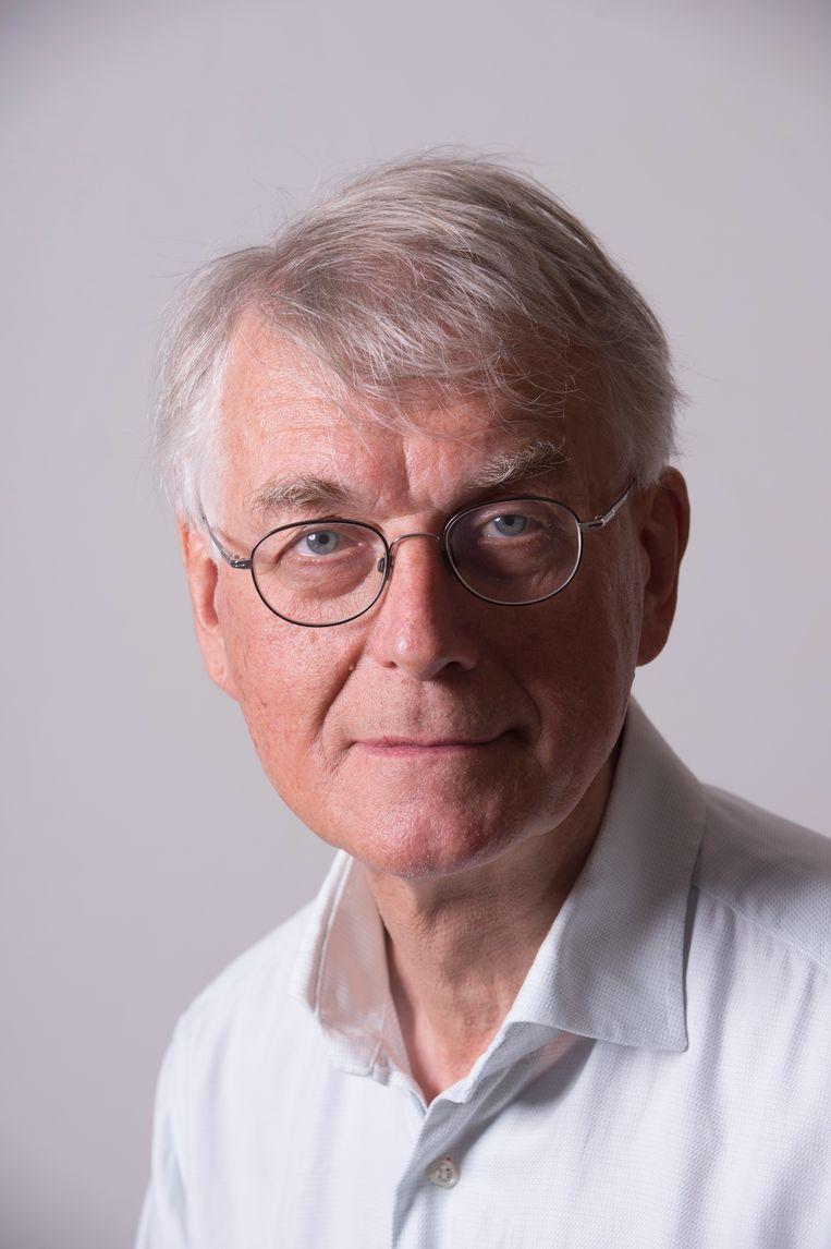Auke van der Woud (1947) werkte als hoogleraar architectuur- en stedenbouwgeschiedenis aan de Rijksuniversiteit Groningen. Beeld Sake Elzinga/Hollandse Hoogte
