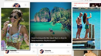 Twitterend Nederland spot met Yolanthe Sneijder-Cabau over 'Ibiza-foto'