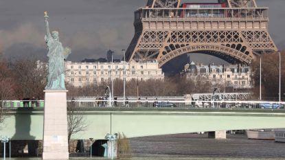 Waterstand Seine blijft stijgen, morgen hoogste stand verwacht