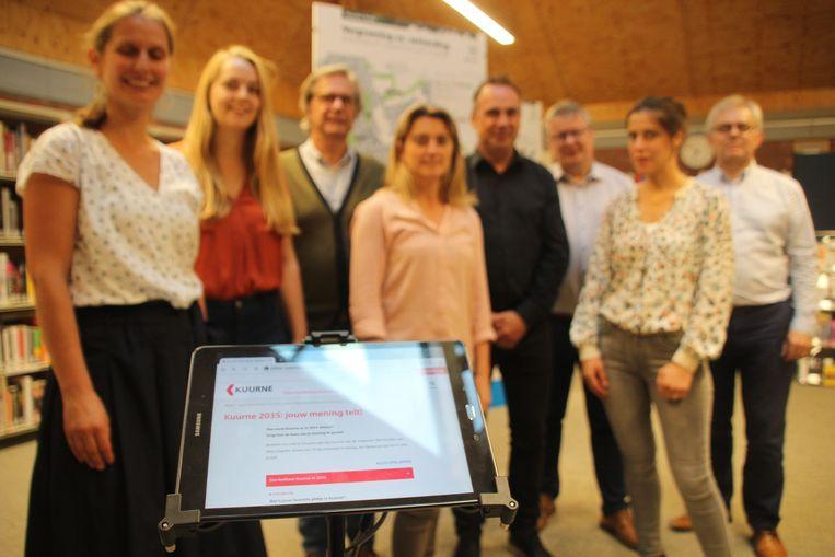 Inwoners kunnen ook hun mening geven via de website van Kuurne.