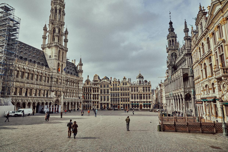 Brussel tijdens de lockdown: een lege Grote Markt. Volgt er een lockdown 2.0?