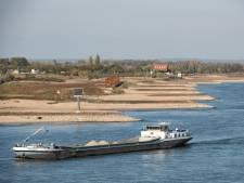Binnenvaart zucht onder droogte: Meer schepen nodig, minder ruimte