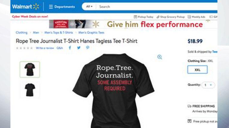 Het gewraakte T-shirt.