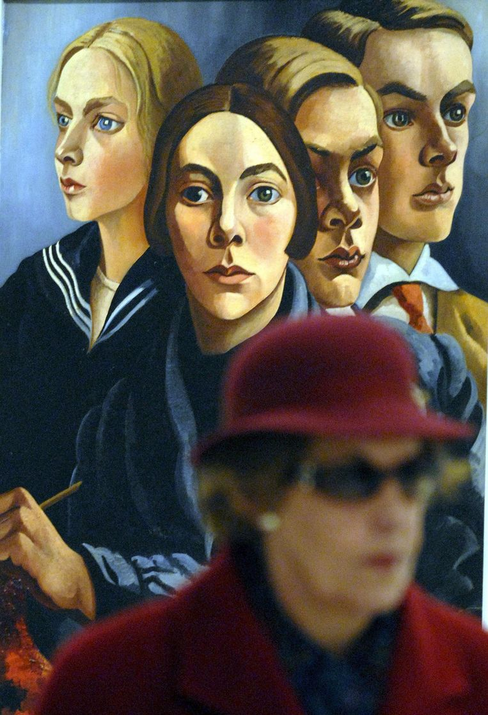 Een schilderij van Charley Toorop. Beeld epa