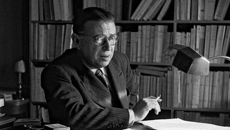 Bij de term 'existentialisten' denk je al gauw aan Sartre. Beeld null