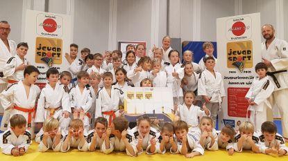 Judoclub Asahi '90 Kruishoutem sluit jaar af met reeks medailles