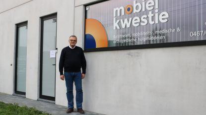 Marc De Muynck pikt de draad weer op en stelt bedrijf Mobiel Kwestie voor