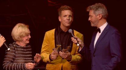 Nathalie Meskens en James Cooke grote winnaars op de Story Showbizz Awards 2018